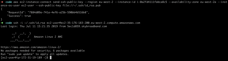 Existing SSH Key
